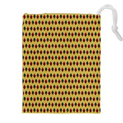 Points Cells Paint Texture Plaid Triangle Polka Drawstring Pouches (xxl) by Mariart