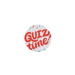 Question Mark Quiz Time 1  Mini Buttons by Mariart