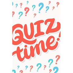 Question Mark Quiz Time 5 5  X 8 5  Notebooks by Mariart