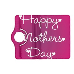 Valentine Happy Mothers Day Pink Heart Love Kindle Fire Hd (2013) Flip 360 Case by Mariart