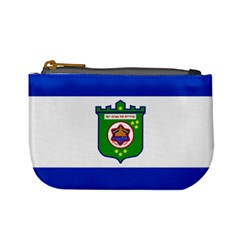 Flag Of Tel Aviv  Mini Coin Purses by abbeyz71