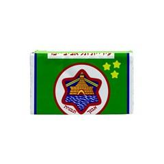 Tel Aviv Coat Of Arms  Cosmetic Bag (xs) by abbeyz71