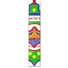 Tel Aviv Coat Of Arms  Large Book Marks by abbeyz71