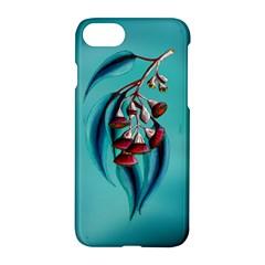 Flowering Gum Apple Iphone 7 Hardshell Case by retz