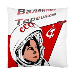 Valentina Tereshkova Standard Cushion Case (one Side) by Valentinaart
