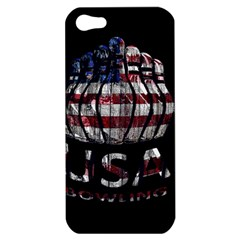 Usa Bowling  Apple Iphone 5 Hardshell Case by Valentinaart