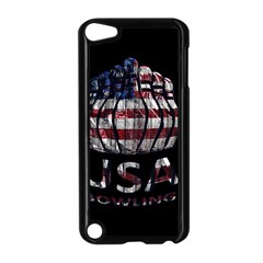 Usa Bowling  Apple Ipod Touch 5 Case (black) by Valentinaart