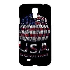 Usa Bowling  Samsung Galaxy S4 I9500/i9505 Hardshell Case by Valentinaart