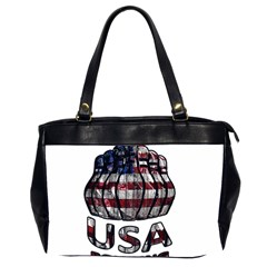 Usa Bowling  Office Handbags (2 Sides)  by Valentinaart