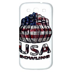 Usa Bowling  Samsung Galaxy S3 S Iii Classic Hardshell Back Case by Valentinaart