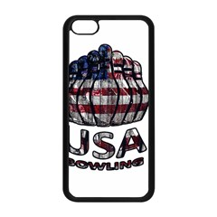 Usa Bowling  Apple Iphone 5c Seamless Case (black) by Valentinaart