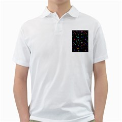 Space Pattern Golf Shirts by Valentinaart