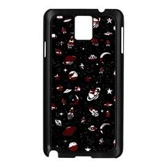 Space Pattern Samsung Galaxy Note 3 N9005 Case (black) by Valentinaart
