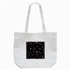 Space Pattern Tote Bag (white) by Valentinaart