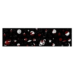Space Pattern Satin Scarf (oblong) by Valentinaart