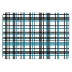 Plaid Pattern Samsung Galaxy Tab 8 9  P7300 Flip Case by Valentinaart