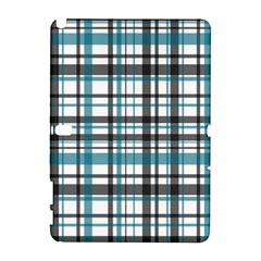 Plaid Pattern Galaxy Note 1 by Valentinaart
