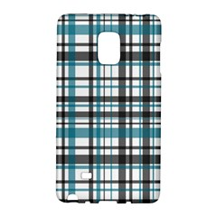 Plaid Pattern Galaxy Note Edge by Valentinaart