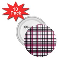 Plaid Pattern 1 75  Buttons (10 Pack) by Valentinaart