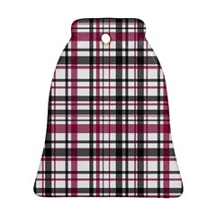 Plaid Pattern Ornament (bell) by Valentinaart
