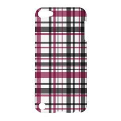 Plaid Pattern Apple Ipod Touch 5 Hardshell Case by Valentinaart