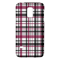 Plaid Pattern Galaxy S5 Mini by Valentinaart