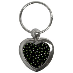 Cactus Pattern Key Chains (heart)  by Valentinaart