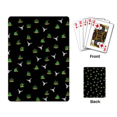Cactus Pattern Playing Card by Valentinaart