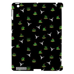 Cactus Pattern Apple Ipad 3/4 Hardshell Case (compatible With Smart Cover) by Valentinaart