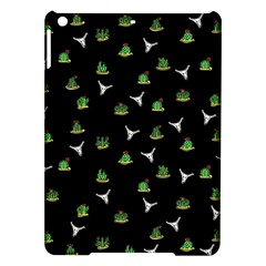 Cactus Pattern Ipad Air Hardshell Cases by Valentinaart
