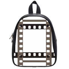 Frame Decorative Movie Cinema School Bags (small)  by Nexatart