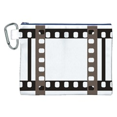 Frame Decorative Movie Cinema Canvas Cosmetic Bag (xxl) by Nexatart