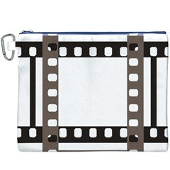 Frame Decorative Movie Cinema Canvas Cosmetic Bag (XXXL) by Nexatart