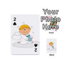 Angel Baby Bottle Cute Sweet Playing Cards 54 (mini)  by Nexatart