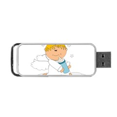 Angel Baby Bottle Cute Sweet Portable Usb Flash (one Side) by Nexatart