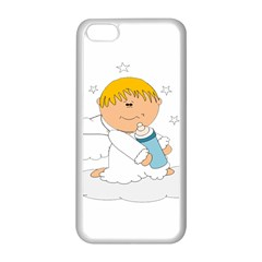 Angel Baby Bottle Cute Sweet Apple Iphone 5c Seamless Case (white) by Nexatart