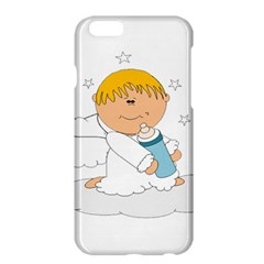 Angel Baby Bottle Cute Sweet Apple Iphone 6 Plus/6s Plus Hardshell Case by Nexatart