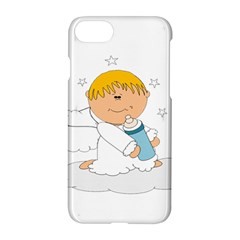 Angel Baby Bottle Cute Sweet Apple Iphone 7 Hardshell Case by Nexatart