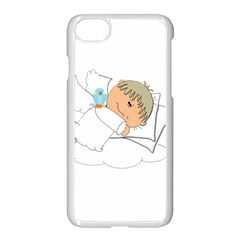 Sweet Dreams Angel Baby Cartoon Apple Iphone 7 Seamless Case (white) by Nexatart