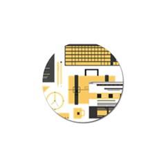 Web Design Mockup Web Developer Golf Ball Marker (10 Pack) by Nexatart