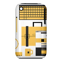 Web Design Mockup Web Developer Iphone 3s/3gs by Nexatart