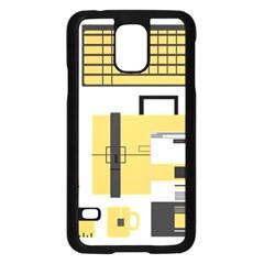 Web Design Mockup Web Developer Samsung Galaxy S5 Case (black) by Nexatart