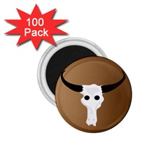 Logo The Cow Animals 1 75  Magnets (100 Pack)  by Nexatart