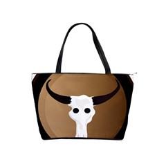 Logo The Cow Animals Shoulder Handbags by Nexatart