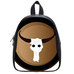Logo The Cow Animals School Bags (small)  by Nexatart