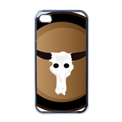 Logo The Cow Animals Apple Iphone 4 Case (black) by Nexatart