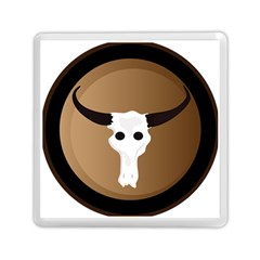 Logo The Cow Animals Memory Card Reader (square)  by Nexatart