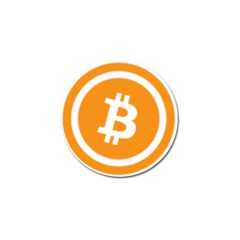Bitcoin Cryptocurrency Currency Golf Ball Marker by Nexatart