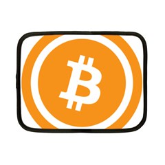 Bitcoin Cryptocurrency Currency Netbook Case (small)  by Nexatart