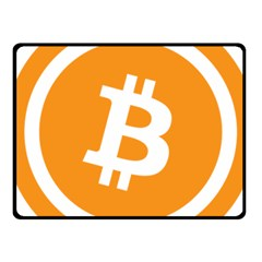 Bitcoin Cryptocurrency Currency Fleece Blanket (small) by Nexatart